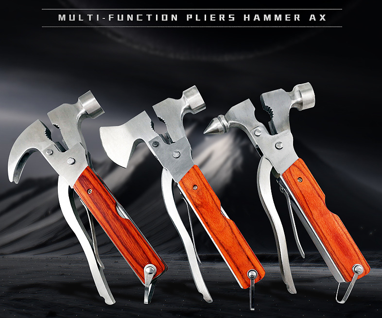 Safety Hammer Axe Multi Tool With Hammer And Axe