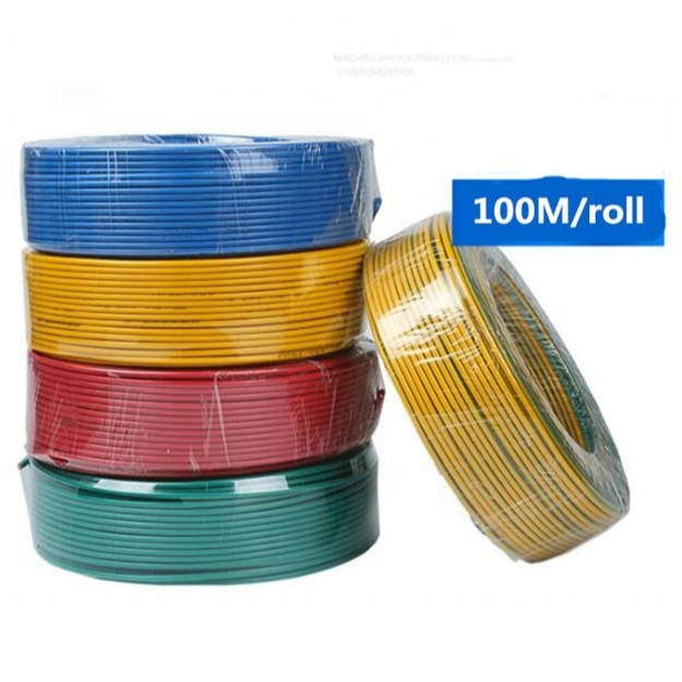 <strong>H07V</strong>-K H05V-K 4MM2 PVC Insulated Single Core Copper Conductor Hard Electric <strong>Wire</strong> Cable 450/750V