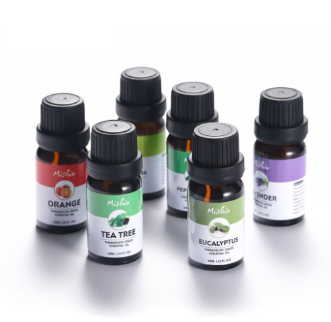 Top 6 Essential Oils 100% Pure of The Highest Quality Peppermint, Tee Tree, Rosemary, Lavender, Eucalyp