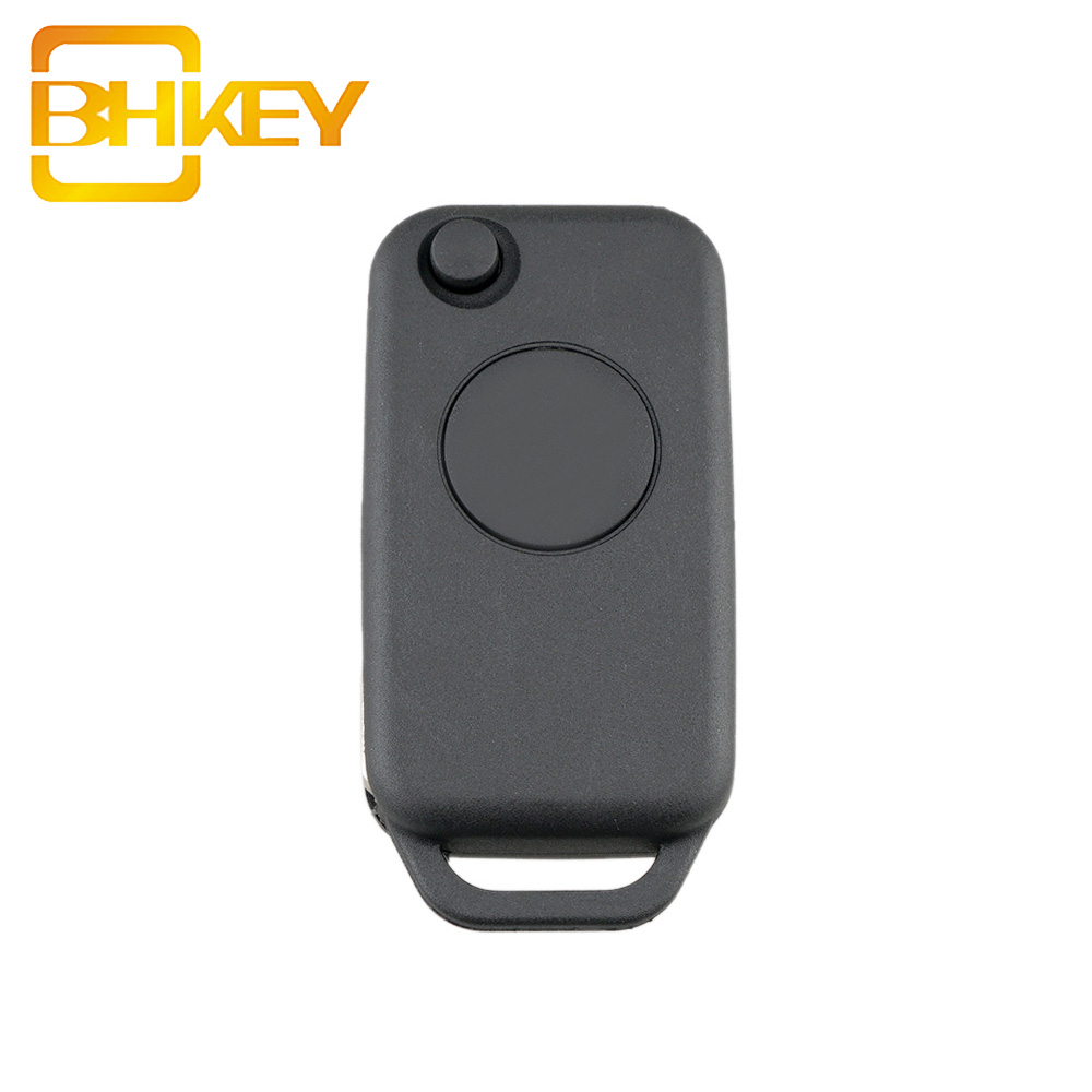 1 Button Flip Folding Smart Entry Car Key Case Shell Fob Remote Car key CASE For Mercedes Benz A W168 <strong>W124</strong>