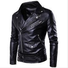 New Fashion Wholesale Men Genuine Leather Jackets <strong>Motorcycle</strong> For Men in Stock