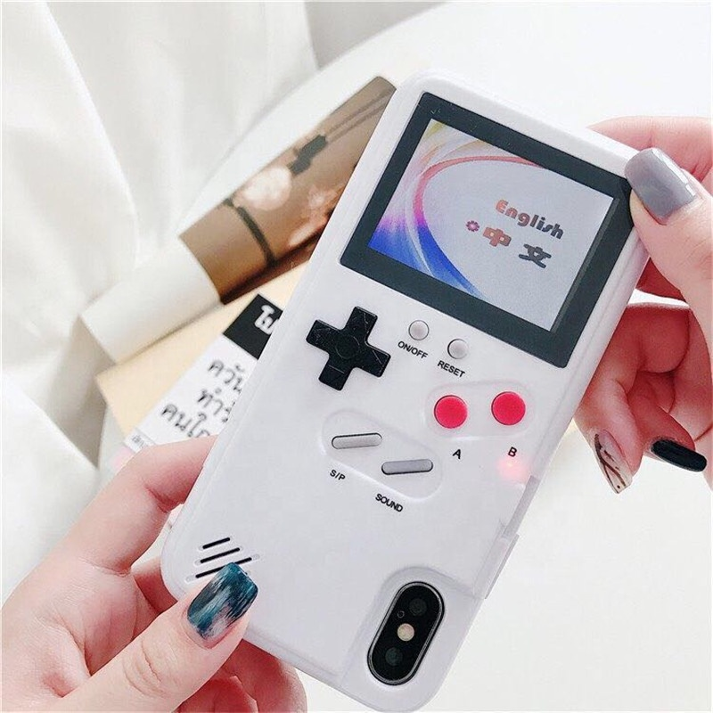 36 kinds newest Classic Color screen game phone <strong>Case</strong> for gameboy