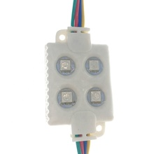 Factory Wholesale outdoor IP66 waterproof DC12V SMD 5050 RGB <strong>led</strong> <strong>module</strong> for Channel Letter 4 <strong>leds</strong> <strong>1W</strong> color Injection <strong>led</strong> <strong>module</strong>