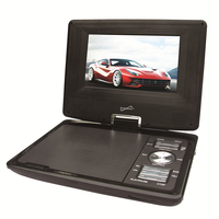 "SuperSonic SC-257 Portable DVD Player 7"" and Digital TV"