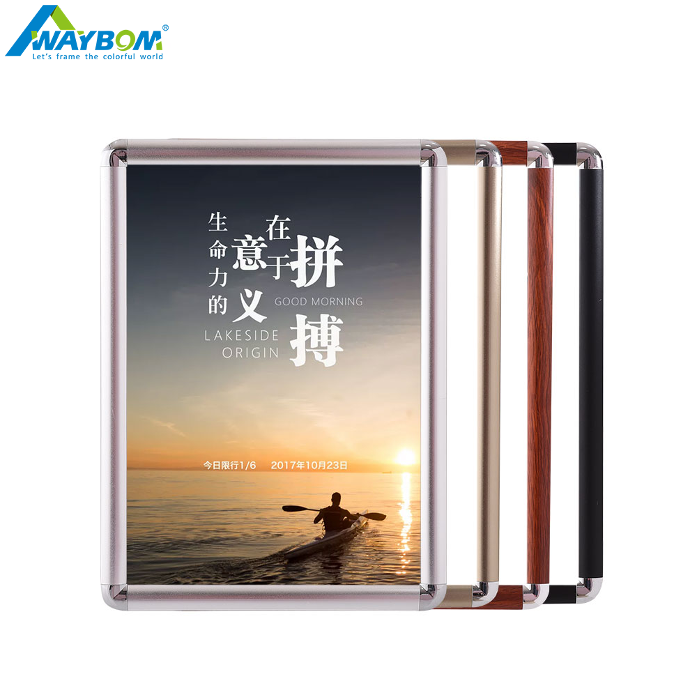 Changeable Openable Double Sided A2 b0 3x5 16x20 24x36 50x70 11x17 Inch Artwork Black Edging Display <strong>Stand</strong> <strong>Poster</strong> Snap Frames