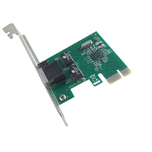 PCI-E nic network interface controller  Gigabit Ethernet RJ45 Desktop 10/100/1000M pci express network LAN card
