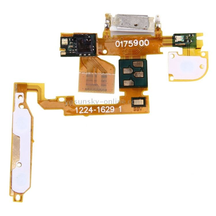 Power Button Flex Cable &amp; Ear Speaker for <strong>Sony</strong> Ericsson Xperia <strong>X10</strong> / X10i / X10a