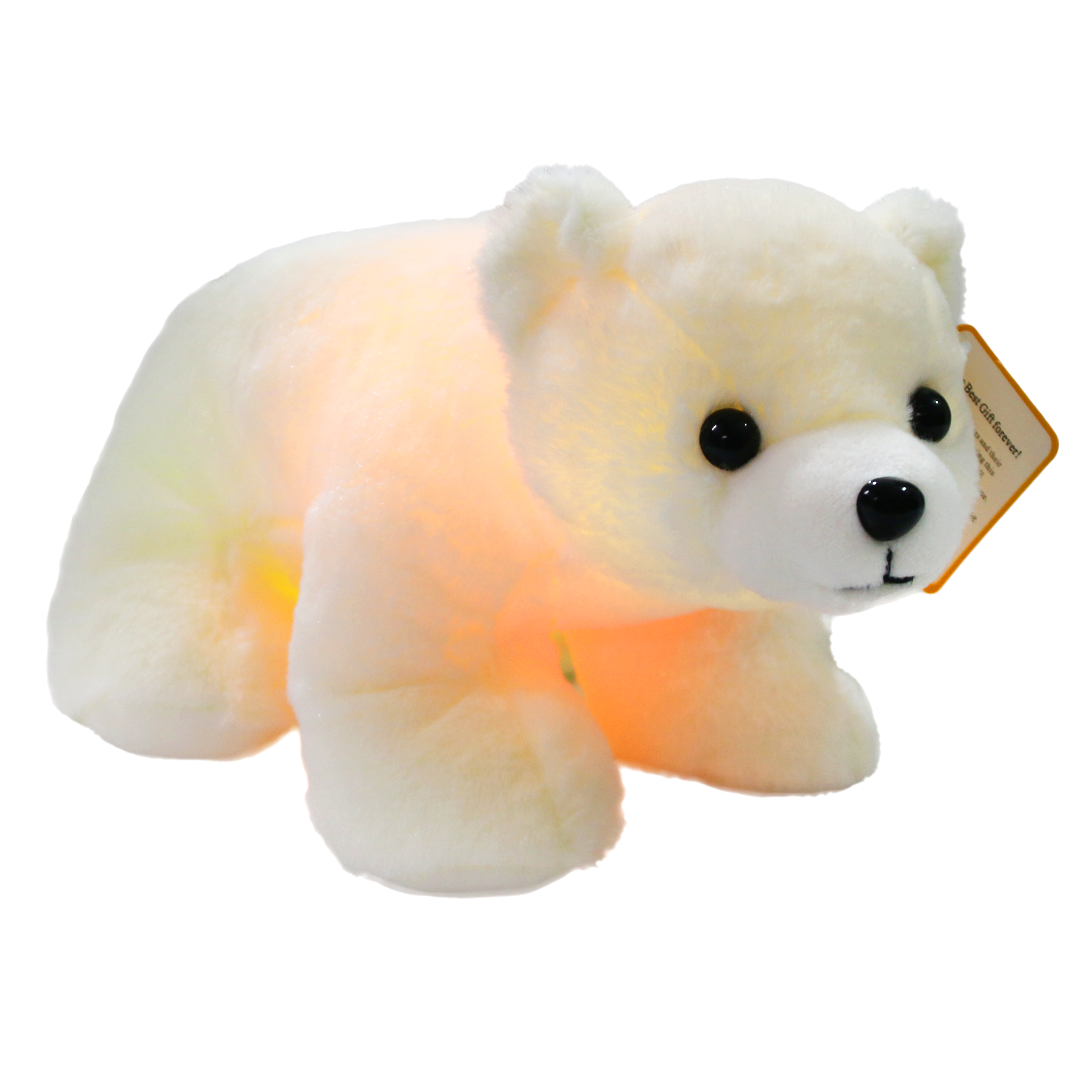 Glow Cute Plush Polar Bear <strong>LED</strong> Stuffed Animals Night Light Up Plush Polar Bear for Gifts