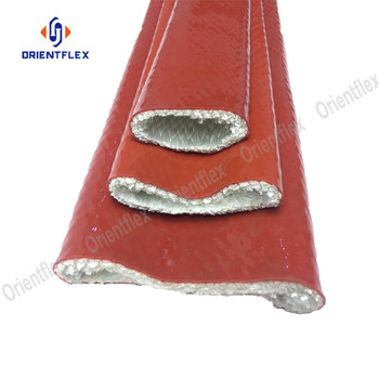 Hose and cable protective sleeve protect Silicone coated fiberglass sleeving
