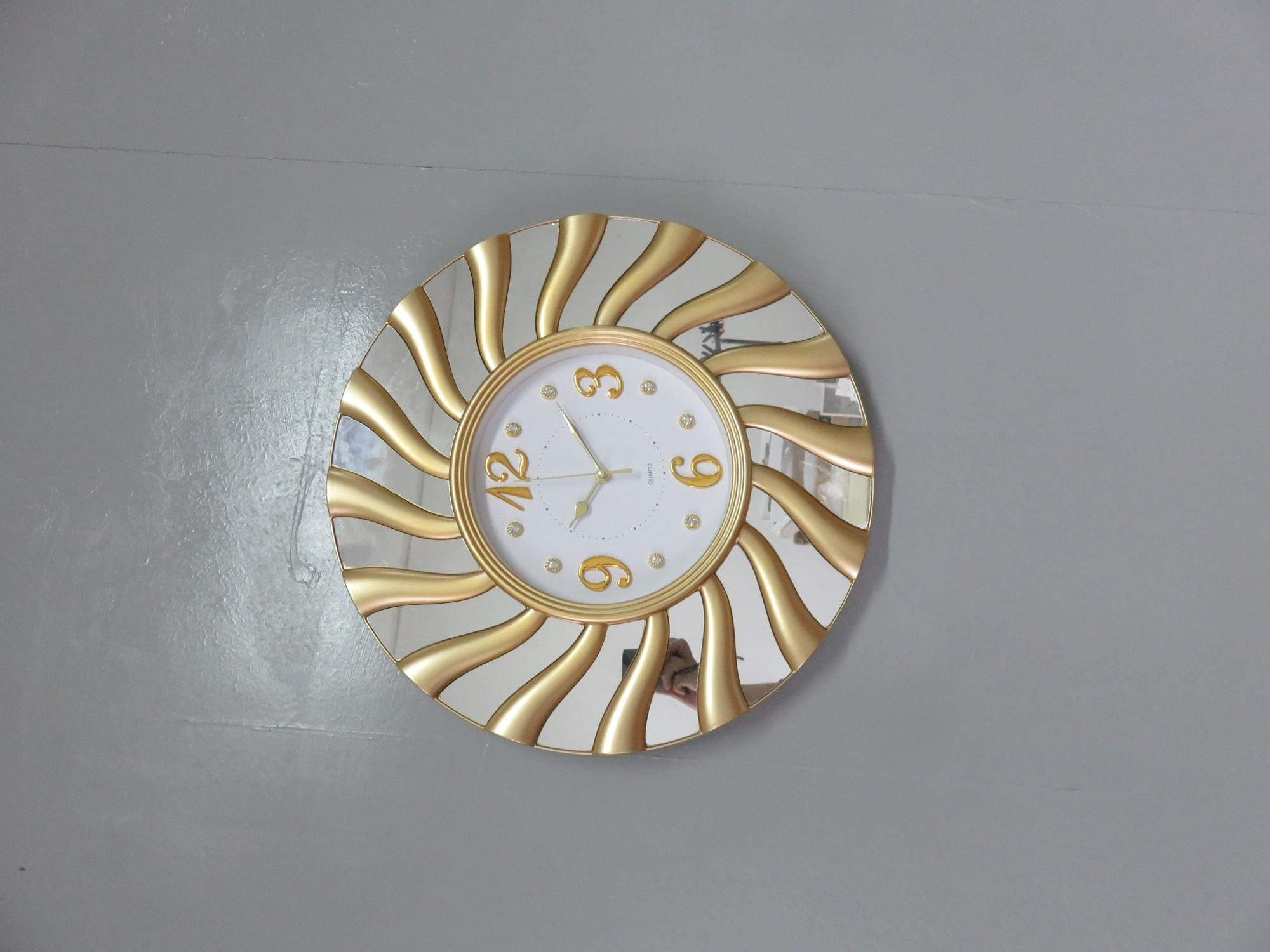 Decorative wall clock high quality 45x45cm wall clock  home deco