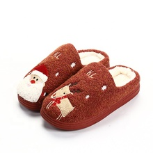 2019 Christmas Non Slip Winter Knitted <strong>Slipper</strong> Women Men Indoor <strong>Slipper</strong>
