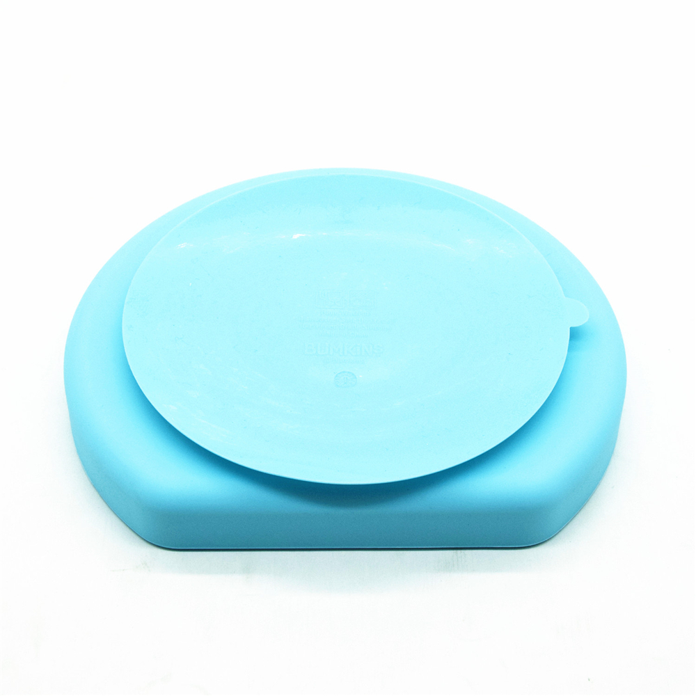 Wholesale Custom FDA Approved BPA Free Divided Design Baby Feeding Silicone Suction Plate for Toddlers