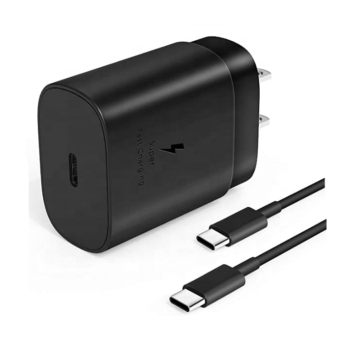 USB <strong>C</strong> Wall Charger PD 25W Fast Charger Adapter with Type-<strong>C</strong> Cable 3.3ft for Samsung Galaxy Note10/ <strong>10</strong>+/ S20/ S10