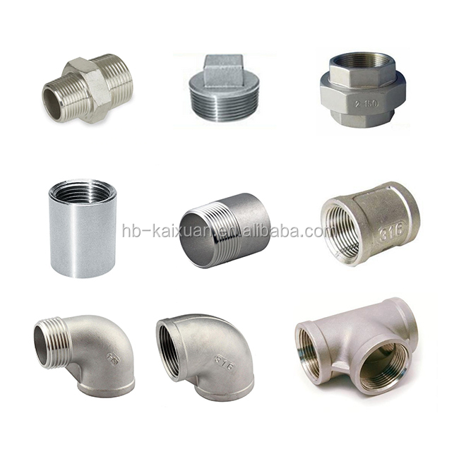 "1/8""-4"" Stainless Steel SS 304 316  Pipe Fitting Union"