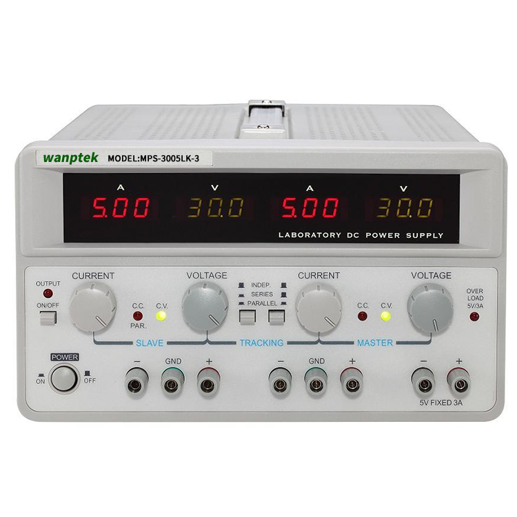 MW MPS-3005LK-3 30V 5A Multi Channel Dual Adjustable Digital <strong>Switching</strong> Analog DC Power Supply Mobile Repair Power