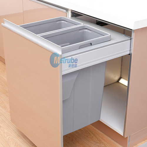 New China Products For Sale Household Foldable Sizes Twin 2*35L Garbage Bin