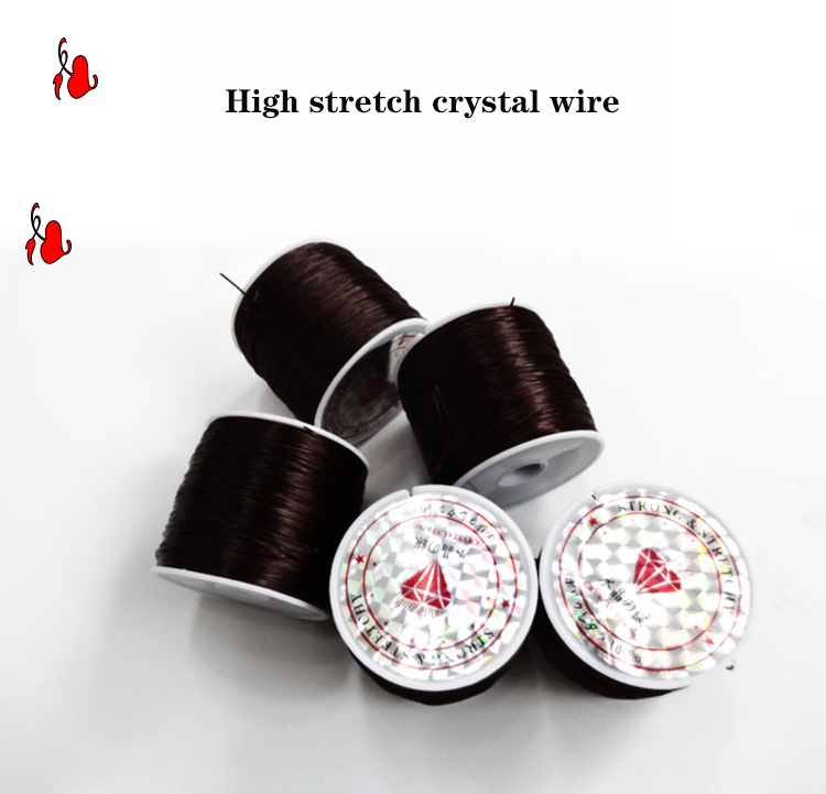 80cm/Roll Special purpose professional hair extensions line high elasticity invisible crystal rope Line