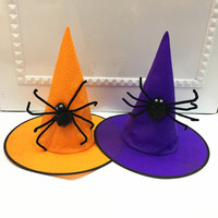 Witch Hats Masquerade Ribbon Wizard Hat Party Hats Cosplay Costume Accessories Halloween Party Fancy decoration