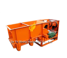 Chute mine feeder vibrating grizzly feeder