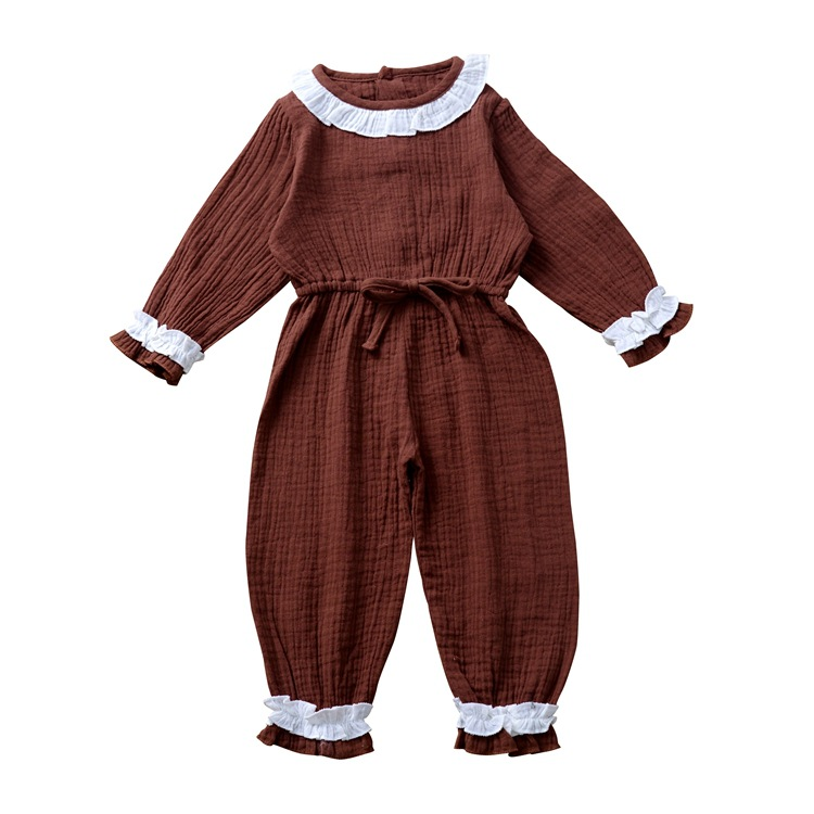 The factory <strong>provides</strong> ins hot style children's jumpsuits for the fall of 2010