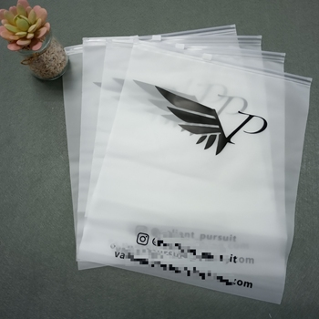 Eco Friendly Customized logo printing Resealable Plastic Zip Lock Bags Clear Poly Ziplock bag with slider zipper
