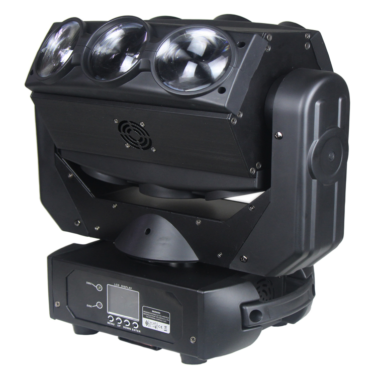 Wedding <strong>beam</strong> 9x12W 4in1 rgbw led wash moving head light