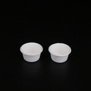 Disposable biodegradable bagasse sugarcane fiber cup