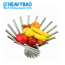 Heavybao Kitchen Buffet Stainless Steel <strong>Fruit</strong> Basket