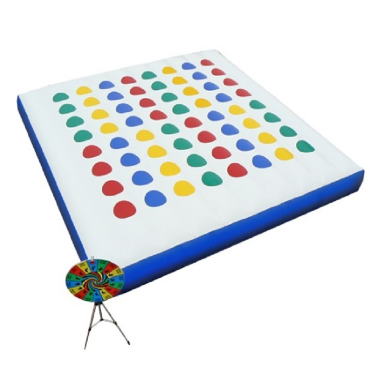 Inflatable Twister Mattress For Funny Game