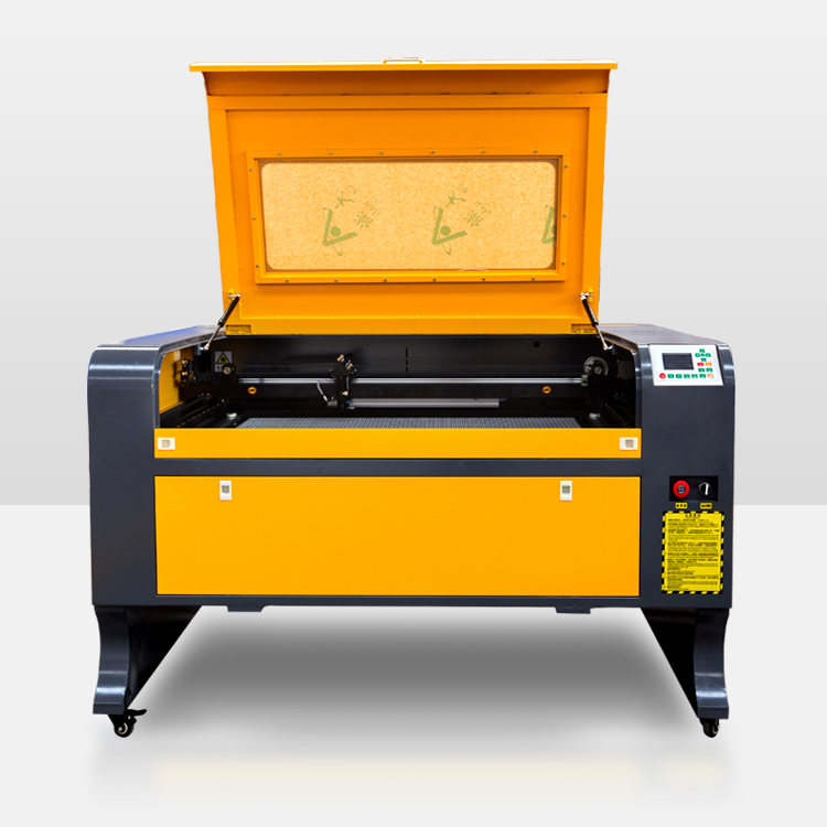 super version VOIERN 9060 laser cutting machine 6090 100W co2 laser engraving cutting machine for sale Ruida X and <strong>Y</strong> axis