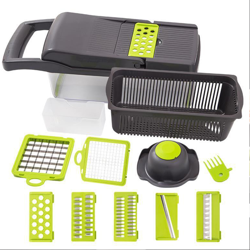 Cost-effective Hand Press Onions Chopper Manual Slicer Multi-functon Vegetable <strong>cutter</strong>