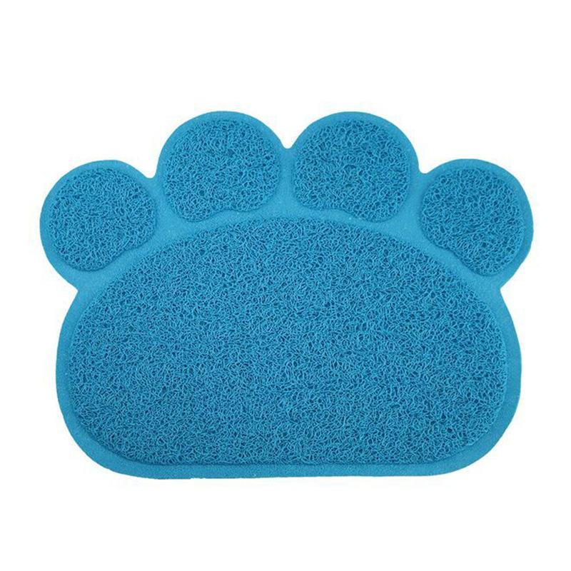 Durable cats litter pvc mat pet litter rugs for wholesale