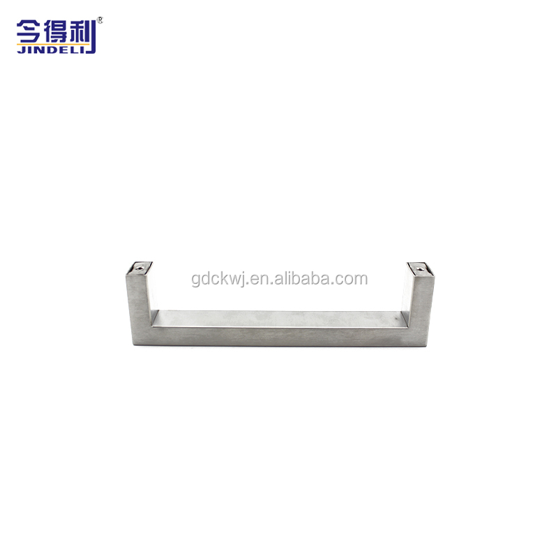 Furniture Handle Kitchen Cabinet Classic Brush Chrome Stainless Steel Door Handle