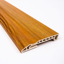 100mm bamboo fiber eco-friendly interior decorate baseboard skiring <strong>mouldings</strong> for base of wall