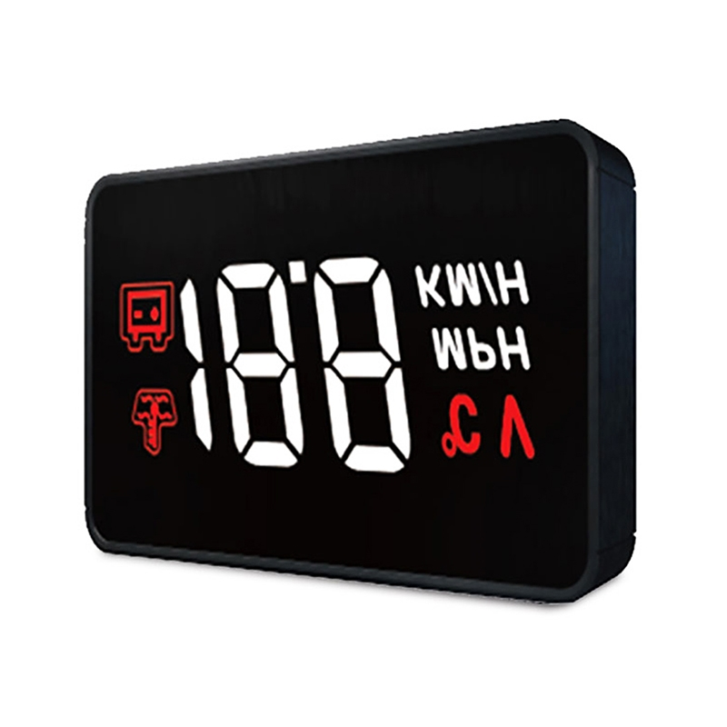 2019 new <strong>A100</strong> HUD OBD II Car Head Up Display, Speed, Water Temperature &amp; High Water Temperature Alarm, Voltage &amp; Low Voltage Ala