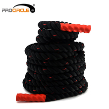 Fitness Gym Power Training Battle Rope With Nylon Cover