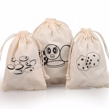 Versicolor Cotton Gift Bags Customized