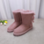 Wholesale high quality winter sheep fur snow boots women shoes