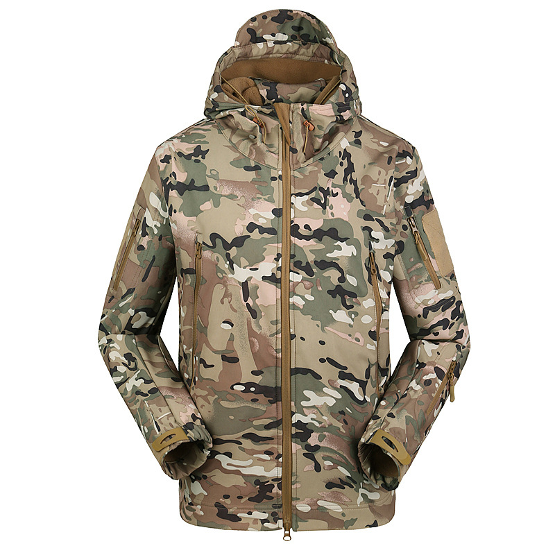 <strong>A001</strong> Men Camouflage Jacket Coats Mens Winter Waterproof Jackets