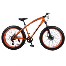 24 inch cheap adult 7 variable speed sandy beaches 4.0 fat tire mountainbike mountain <strong>bike</strong> from china