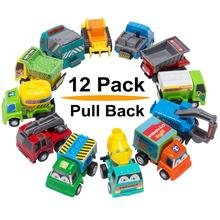 Vehicles Truck Mini Car Toy For Kids Toddlers Boys,Pull Back and Go Car Toy Play Set