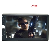 "7"" 7012B Car Radio HD 1080P Touch Screen 2 Din Audio Stereo Bluetooth Video MP5 Multimedia Player FM Radio with rear view camera"