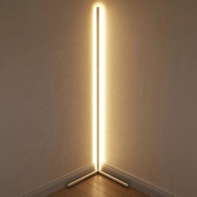 Minimalist vertical LED corner floor <strong>light</strong> 10W 20W Dimmable RGB