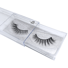 Wholesale natural 3d mink lashes top quality and popular false eyelashes