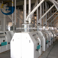 Fully automatic grinding machine for wheat grinder mill