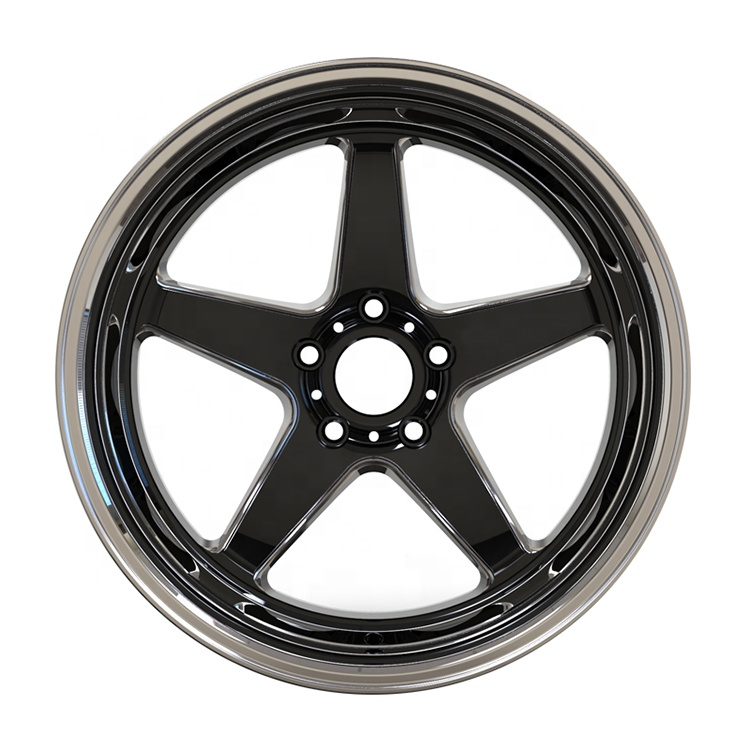 Factory direct 5 spoke car rims 18 inch 5 x 114.3 aluminum alloy casting car <strong>wheels</strong>