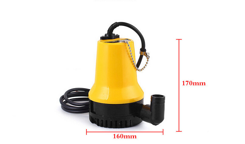 dc12v/24v 1100GPH submersible impeller marine  boat bilge pump portable high capacity electrical water transfer pump