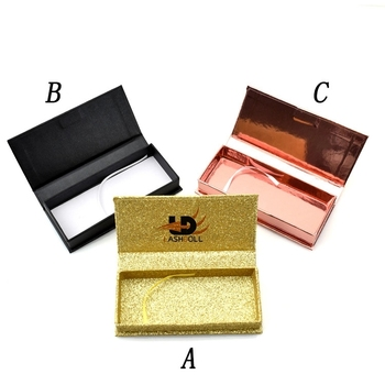 Large stock of eyelash boxes custom logo,fast delivery magnetic boxes for eyelashes