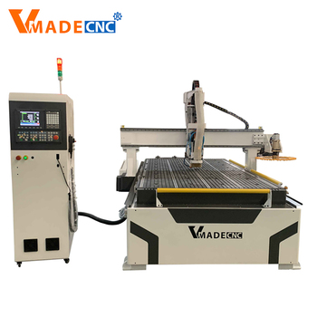 Hot Selling Economic Furniture Industry CNC Router VRW1530 Rotary Wood Working Machine
