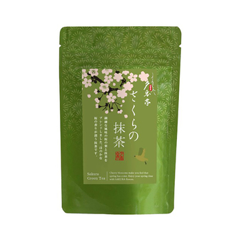 Blended Mellow SAKURA Matcha Drink Healthy Green Tea Price For All Age